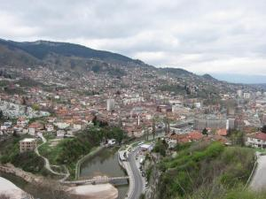 The city of Sarajevo