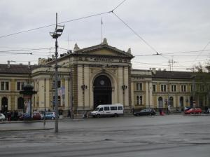 The Baroque railway station