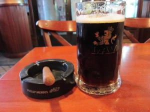 Mmm, dark beer
