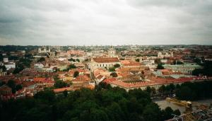 View from Gediminas Tower