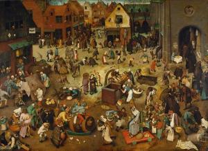 The Fight Between Carnival and Lent (Bruegel)