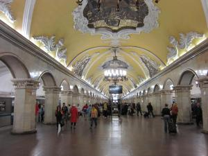 Komsomolskaya - Baroque alert!