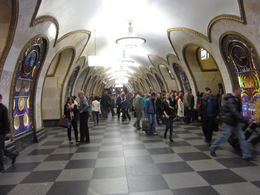 Moscow Metro Subterranean Art Duckholiday