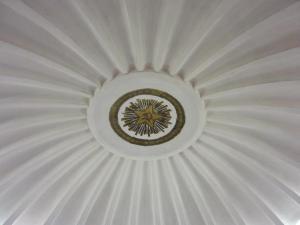 Smolenskaya - ceiling detail