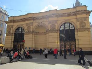 Smolenskaya station