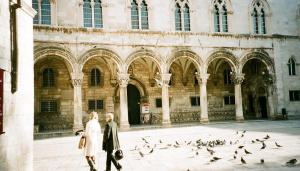 Rector's Palace (with random people)