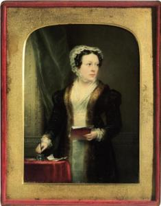 Christina Robertson (self portrait)