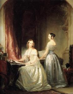 Duchesses Olga Nikolaevna and Alexandra Nikolaevna