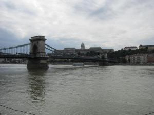 Chain Bridge (note Clark's tunnel beyond the far end)