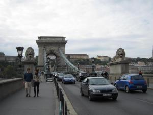 Chain Bridge from street level