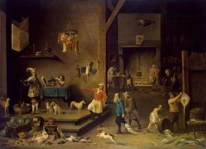 The Kitchen (Teniers)