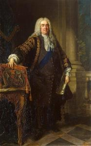 Portrait of Sir Robert Walpole (Vanloo)