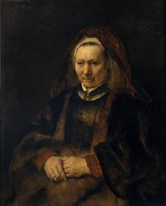 Portrait of an Elderly Lady (Rembrandt)
