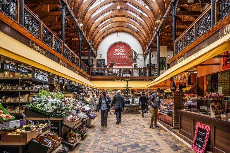 Cork Eng market